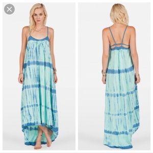 Volcom Dainty Babe tie dye dress